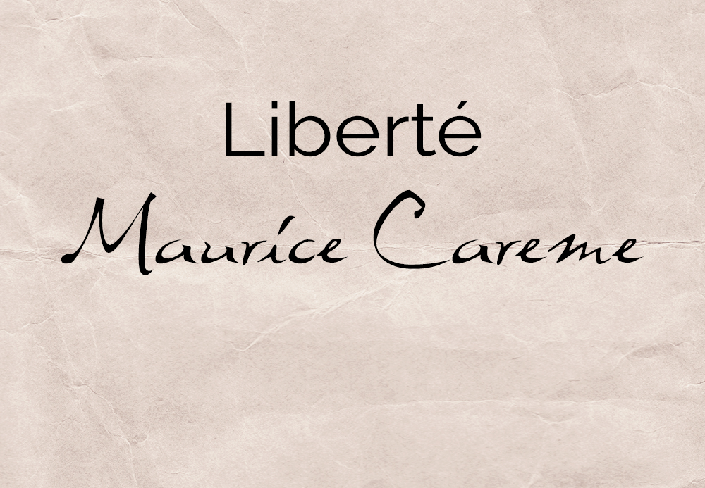 Liberté – Maurice Carême