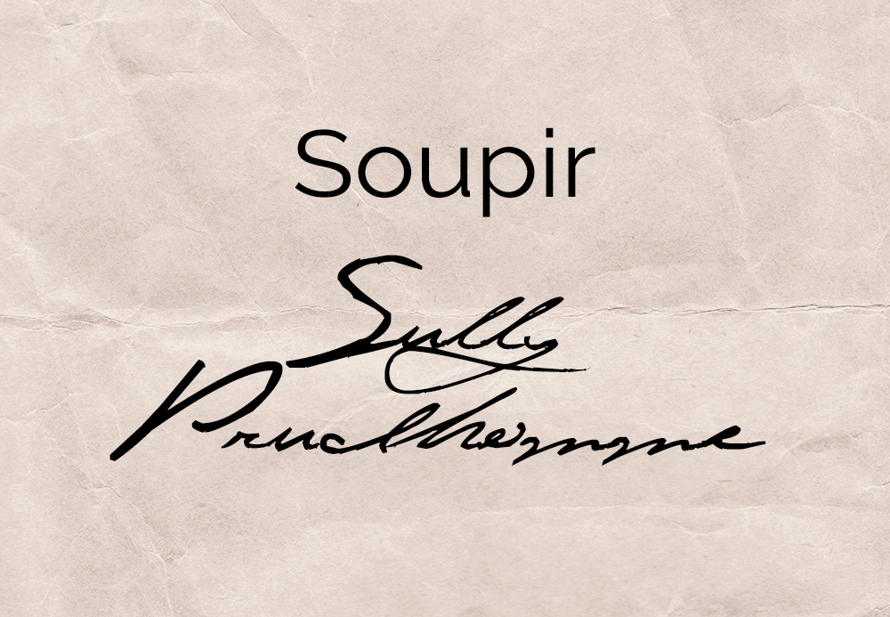 Soupir – Sully Prudhomme